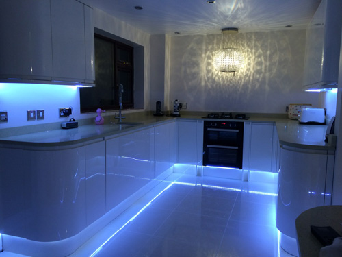 AAJ Electrical, example of a recent lighting installation